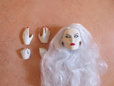 PHICEN 1/6 Kopf ,Hände  Head LADY DEATH   Out of the box