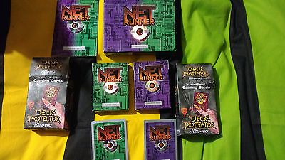 Net Runner (WOTC) Card Game original, boxed with instructions