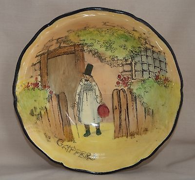 Vintage Royal Doulton GAFFERS D4210 Bowl - Series Ware - signed Noke