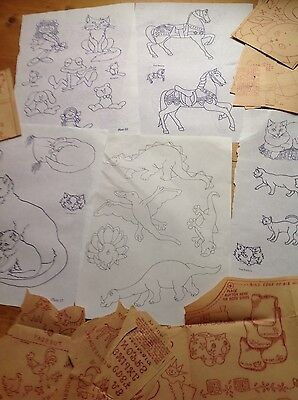 CHILDRENS/PLAYROOM IMAGES - Iron on Transfers for Embroidery