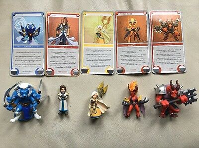Ubisoft Might and Magic Clash of Heroes 5x Figure & Card