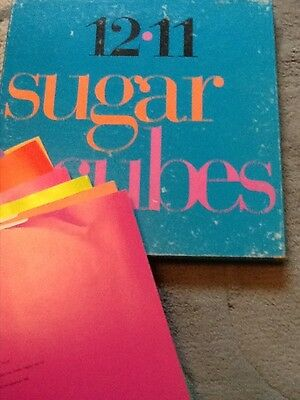"""Sugar Cubes / Bjork 12.11 box set 11x12/10 """" singles now deleted from 1989"""