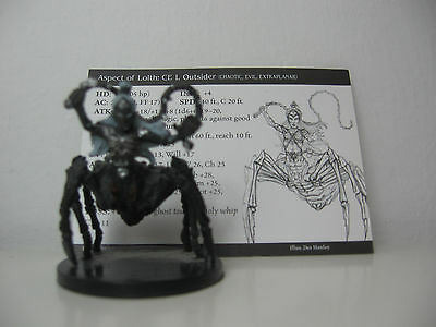 D&D Pathfinder Miniatures - Archfiends 2004 #46 Aspect of Lolth rare Figur