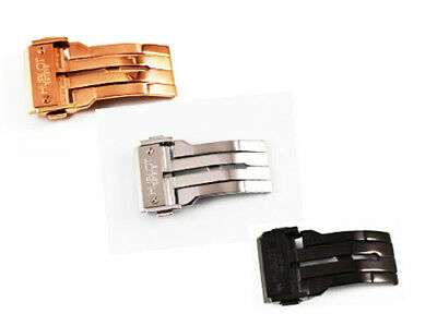 20-22-24mm Stainless Steel,Rose, PVD Deployment Clasp Buckle For Hublot Watch
