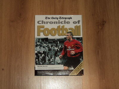 Daily Telegraph Hardback Book Chronicle Of Football