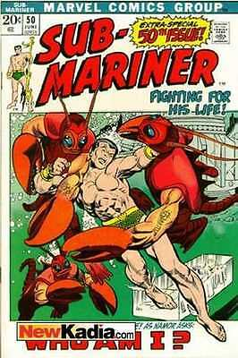 Sub-Mariner (1968 series) #50 in Very Good condition. FREE bag/board