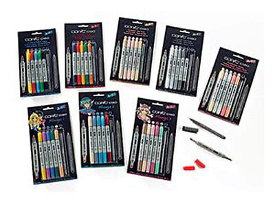 Copic Ciao 5+1 Marker Set - Choose Brights Hues Pastels Skin Grey Manga Stamping