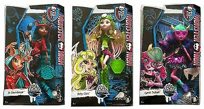 Monster High Puppe Batsy Claro/Kjersti Trollson/Isi Dawndancer