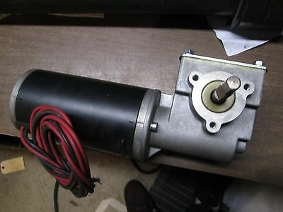 12 volt electric gearmotor-New old stock