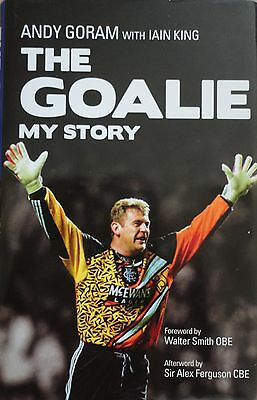 Superb Andy Goram Signed Autobiography