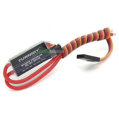RC Turnigy Receiver Controlled On/Off Switch Car LED Lights Remote Glow Igniter