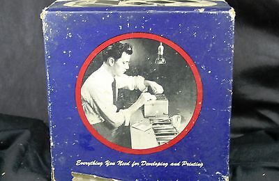 Vintage Ansco Darkroom 2A Film Developing & Printing Outfit in Original Box