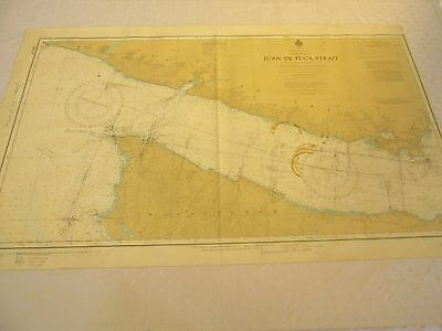 """British Colombia 17 Navigation Charts For The Area Most 42"""" X 22"""""""