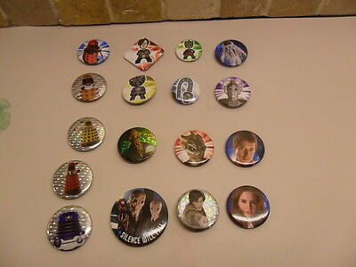 15 x Doctor Who pin badges 1