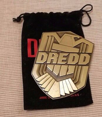 2000AD/Judge Dredd Badge - from Stallone film