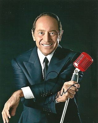 Paul Anka Signed 8X10 Photo Coa Autographed Diana She's A Lady