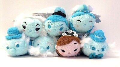 Authentic US Disney Parks Haunted Mansion Tsum Tsum Complete Set Of 7 NWT!
