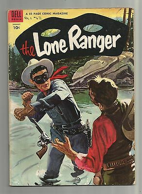 The Lone Ranger No.67 (1954) Dell Comics - 52 pages