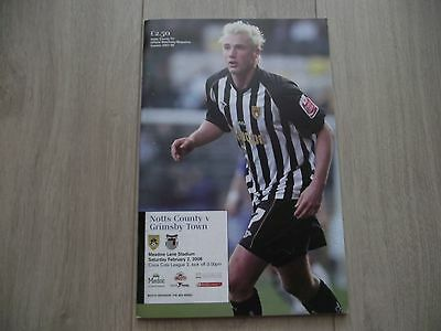 2007-08   Notts County v Grimsby   League Two