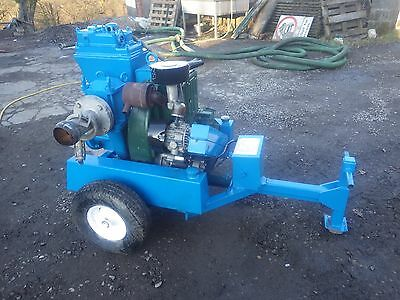 Sykes Gp80 Water Pump. Reconditioned Engine.