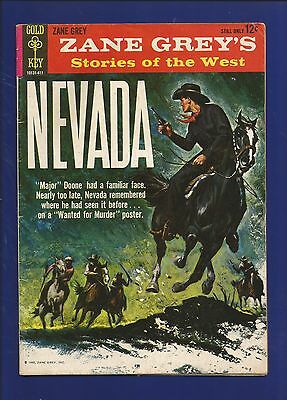 Zane Grey's Stories of the West No.1 (1964) Gold Key Comics