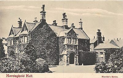 Postcard   Leicestershire  Horninghold  Hall