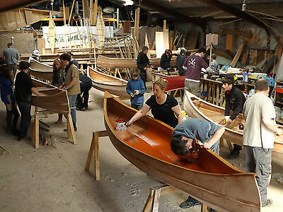 Canadian Canoe craft course Birthday gift holiday present the lake district