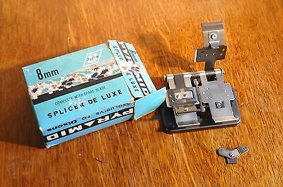 Pyramid Film Splicer Super 8mm and Single 8mm Boxed  VGC