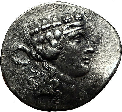 Maroneia in Thrace 168BC Silver Tetradrachm Silver Greek Coin Dionysus i59167