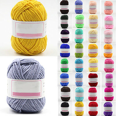 Wholesale popular color Super Soft Natural Smooth Bamboo Cotton Knitting Yarn