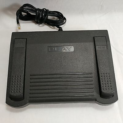 Infinity In-125 Dictation Transcriber Rj-11 Phone Jack Foot Pedal For Dac