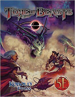Dungeons & Dragons D&D 5th Ed Tome of Beasts by Kobold Press PZOKOBTOB1001