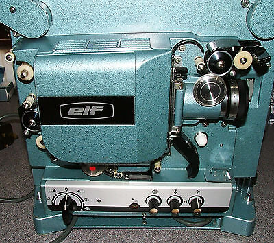 ELF EIKI RT-1 16mm FILM PROJECTOR OPTICAL SOUND - FULLY SERVICED