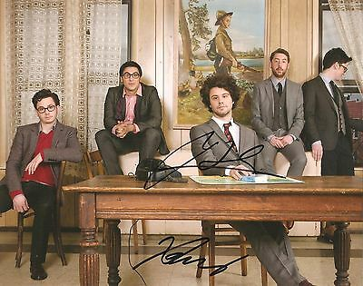 Michael Angelakos Signed 8X10 Photo Coa Autographed Passion Pit 4
