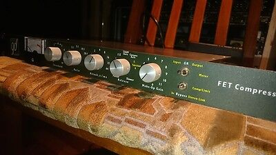 Daking FET II Compressor Limiter w/ Fairchild, Neve + Compex modes USA made