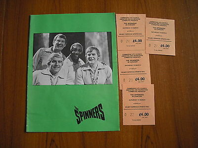 The Spinners In Concert - 1977 - Cambridge