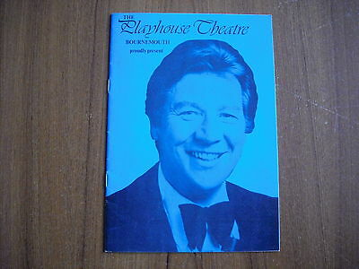 Playhouse Theatre, Bournemouth - Max Bygraves - 1977