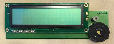 3 Ea DISPLAY LCD, DIGITAL, 2 Rows X 16 Char. NOS / SURPLUS *NO BACKLIGHT MODELS*