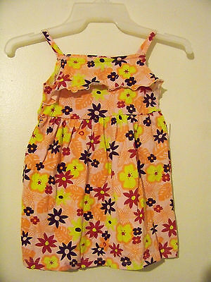 New Girls Pink Floral Summer Dress Size 2T NWT!!!