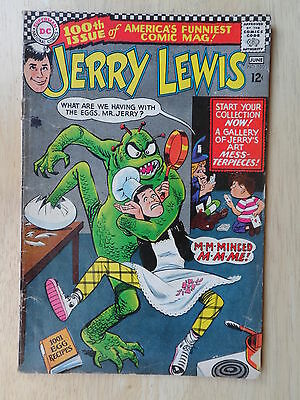 ADVENTURES of JERRY LEWIS #100 _ (DC Comics) _ VG/VG+ CONDITION _ 1967
