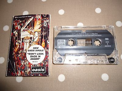 Super Rare Oasis Dont Look Back In Anger Australian Cassingle 1996 6627258 Plays