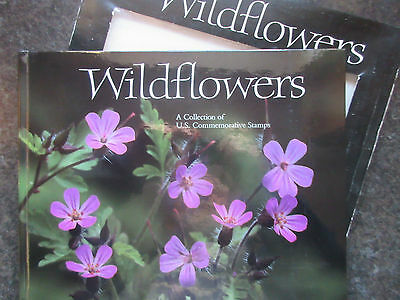 USA 1991 Wildflowers Book With 50x29c Stamps. MNH