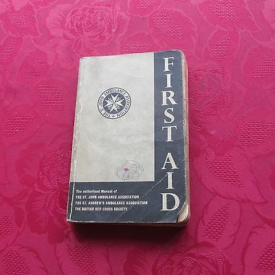 Old Book – St John Ambulance Association - First Aid