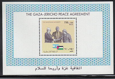 "The Palestinian Authority MiNr.: Block 1 ""The Gaza-Jericho Peace Agreement"" **"