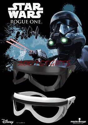 2 Star Wars Story Rogue One 3D Glasses DeathTrooper & StormTrooper Set New/Seal