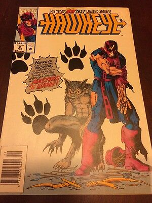 #2 - HAWKEYE - Master's Of The Game! - Marvel 1993