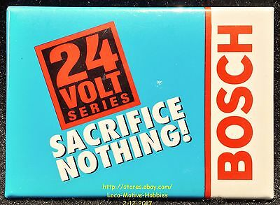 LMH PINBACK Button Pin  BOSCH  Cordless 24 Volt Series Tools SACRIFICE NOTHING !