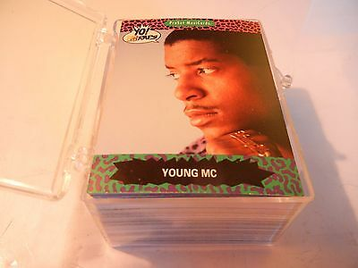YO! MTV RAPS SERIES 1 1991 PRO SET BASE COMPLETE SET 100 +2 winner CARDS