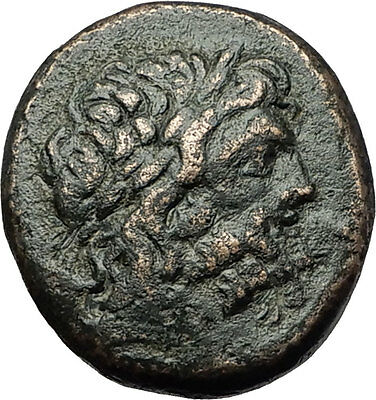 Dia in Bithynia 95BC MITHRADATES VI the GREAT Time Zeus Eagle Greek Coin i59243