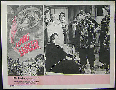 The Flying Saucer Original 1950 Lobby Card #7 Mikel Conrad, Pat Garrison, Sci/Fi